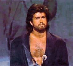 George Michael...love the beard!