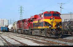RailPictures.Net Photo: KCS 4858 Kansas City Southern Railway GE ES44AC at Bettendorf, Iowa by Tom Farence