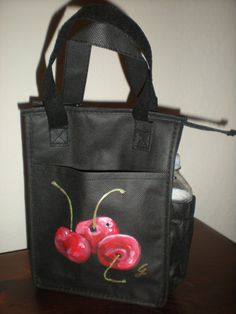 Insulated Lunch Bag. Personalized and Hand Painted by ArteGraciela, $20.00