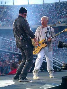U2 ~ The Edge & Adam, 360 Tour