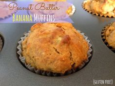 Healthy Peanut Butter Banana Muffins: The Simple Life