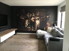 Rembrandt Art, Baroque Art, Antique Interior, Pool Houses, Colorful Interiors, Master Bedroom, New Homes, Wall Decor, Flooring