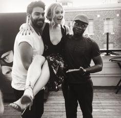 Rahul, Rose and Malcolm