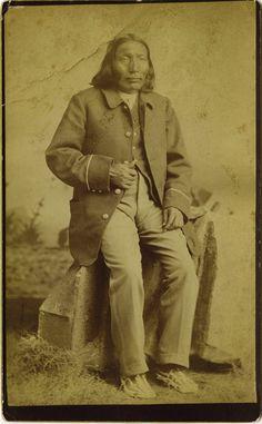 White Buffalo - Comanche - 1885