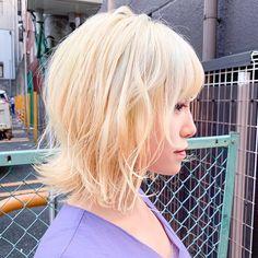 HanaさんはInstagramを利用しています:「.ㅤㅤㅤㅤㅤㅤㅤㅤㅤㅤㅤㅤㅤ Blonde×short…」 White Blonde, Blonde Hair, Long Hair Styles, Beauty, Instagram, Yellow Hair, Long Hairstyle, Long Haircuts, Long Hair Cuts