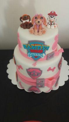 Paw Patrol Themed Skye Cake