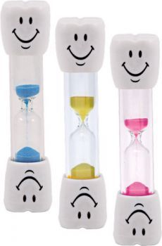 -CHOICE------------------------------------------I totally want to get these tooth brush timers for the girls! #spon