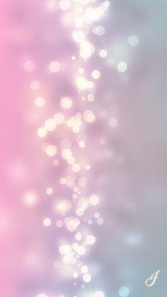 Pink bokeh lights iPhone wallpaper