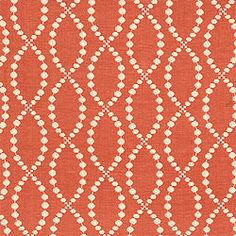 Thibaut is the nation's oldest designer wallpaper firm. Woven Fabric, Coastal Fabric, Dining Room Wallpaper, Girl Nursery, Nursery Ideas, Wallpaper Stencil, Woman Cave, Orange Fabric, Amor