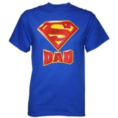 Superman Logo Dad's Super Father's Day T-Shirt