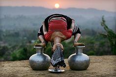 A different style of dancing - Naisingpara refugee camp, Tripura (Timothy Allen) Namaste Yoga, Yoga Meditation, Tribal India, Northeast India, States Of India, Dance Movement, Yoga Photography, Inspirational Wall Art, Girl Dancing