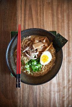 Japanese Shoyu Ramen, Ramen Noodles in Soy Sauce Broth|醤油ラーメン