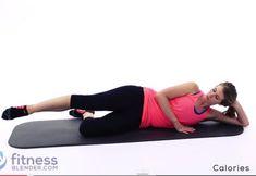 Antrenament pentru coapse si muschi fesieriDurata 15 minute. Exercitii fizice | SuntSanatos.ro