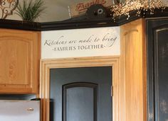 Inspirational Kitchen Wall Quotes