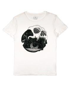 Skull Plaisant Off White Reissue Off White, Skull, Mens Tops, T Shirt, Inspiration, Fashion, Supreme T Shirt, Biblical Inspiration, Moda