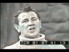Ed Sullivan introduces the Clancy Brothers & The Wild Colonial Boy - one of my Dad's favorites.  I can almost see him singing it with the neighbors on the front porch.