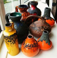 Wanna start a W German fat lava collection/FAT LAVA COLLECTION 3 by julianshimmin, via Flickr
