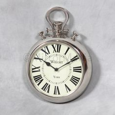 Every home should have a wall pocket watch I am going to purchase one they are so classy and add style to any room love them!!!