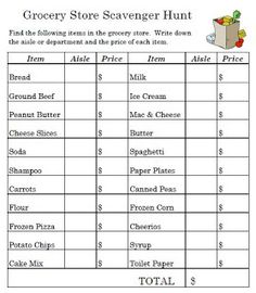 Worksheet Consumer Math Worksheets 1000 images about consumer math class on pinterest financial fun worksheet to take the grocery store with you students in small groups can explore and find all items list mark d
