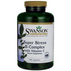 Super Stress Vitamin BComplex with Vitamin C, 240 Caps AED228.00 #UAESupplements