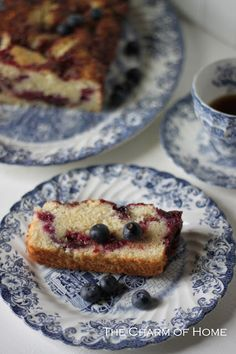 The Charm of Home: Mixed Berry Coffee Cake