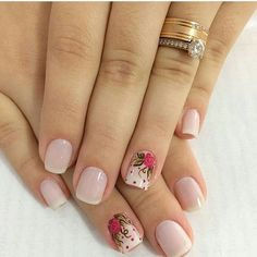 Por @jessicagimenescabral 💅 Gorgeous Nails, Pretty Nails, How To Do Nails, Fun Nails, Nail Logo, Manicure E Pedicure, Nail Trends, Simple Nails, Spring Nails