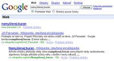 Google změnil své chování k webům, které jsou cílem Google bomby a mají Google zakázaný v robots.txt: teď tako titulek stránky zobrazuje text bomby (2006/2007)