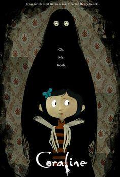Coraline by Henry Selick This is cute. Coraline reminds me of Lydia in Beetlejuice…Well, a little bit. (Artwork by Jon Klassen) Coraline Movie, Coraline Art, Coraline Jones, Coraline Aesthetic, Laika Studios, Tim Burton Art, Animation, Neil Gaiman, Fan Art