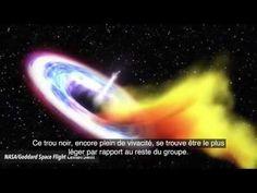Des astronomes observent la mort d'une étoile engloutie par un trou noir