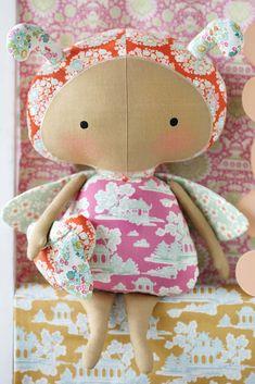 Kit de poupée Tilda Bumblebee, contient toutes les fournitures