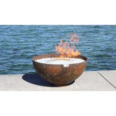 "The Big Bowl O' Zen 37"" Firebowl   Fire Science"