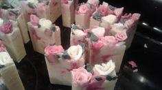 Making Black Cherry Merlot Roses CP Soap for a Bridal Shower favors / so...