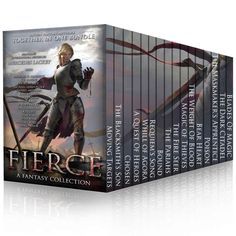 FIERCE: Sixteen Authors Of Fantasy eBook: Mercedes Lackey, Terah Edun, Michael G. Manning, K.F. Breene, Morgan Rice, Michael James Ploof, Daniel Arenson, Kate Sparkes, David Adams, Amy Raby, C. Greenwood, David Dalglish, K. J. Colt, Shae Ford, Endi Webb, Michael Wallace: Amazon.co.uk: Kindle Store