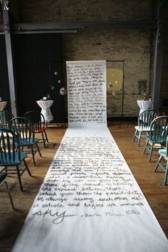 Are you looking for aisle runner and aisle decoration ideas? We've got lots of aisle runner inspiration and ways to dress up your wedding ceremony Wedding Aisles, Aisle Runner Wedding, Wedding Ceremony Backdrop, Ceremony Decorations, Aisle Runners, Wedding Backdrops, Outdoor Ceremony, Trendy Wedding, Dream Wedding