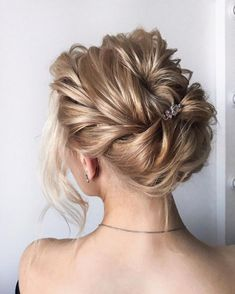 Drop-Dead Gorgeous Wedding Hairstyles For Every Bride To Be. Whether you're a summer ,winter bride or a destination bride, so make sure your hairstyle shows the pretty garment off as much as possible.
