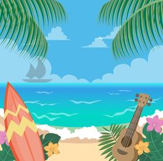 Scenariusz Mama na Hawajach dla przedszkola, szkoły podstawowej do pobrania, druku i dowolnego użytku.