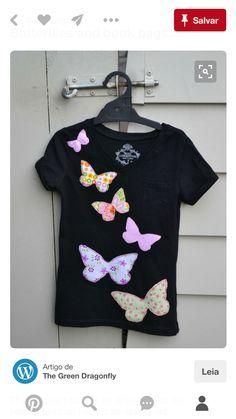 Schmetterlinge applizieren