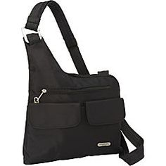 Travelon Anti-Theft Signature 3 Compartment Crossbody - eBags.com