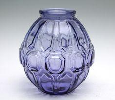 Val St. Lambert - purple vase - Catawiki Online Auctions