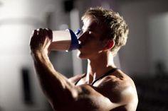 Batido para masa muscular