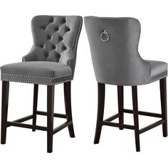 Buying Costigan Velvet 26 Bar Stool (Set of By Darby Home Co Grey Bar Stools, Bar Stools For Sale, Swivel Counter Stools, Counter Height Bar Stools, Bar Chairs, Bar Tables, Bar Counter, Island Chairs, Desk Chairs