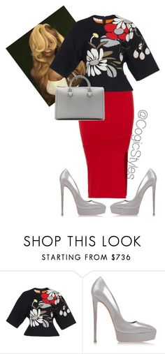 """""""Untitled #608"""" by cogic-fashion ❤ liked on Polyvore featuring Marni, Casadei and Victoria Beckham"""