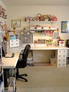 Love the organization and desk space