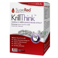 Solal Supered Krill Think with Ginkgo Biloba Extract