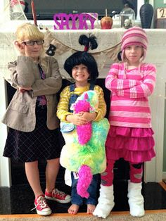 Margo, Edith, & Agnes Costumes - Despicable Me