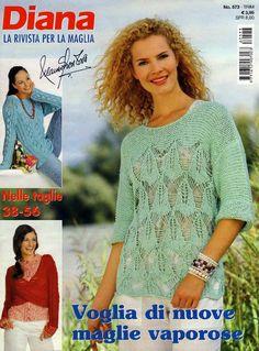 Diana la rivista per la maglia №573 - 轻描淡写 - 轻描淡写