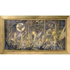 Autumn Procession Framed Print