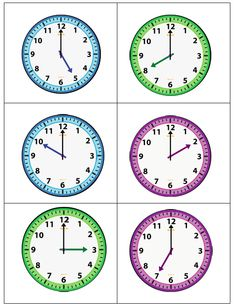 Guided Math - Teaching Time to the Hour Addition Flashcards, Math Addition Worksheets, Kids Math Worksheets, 1st Grade Worksheets, Math Activities, Teaching Time, Teaching Math, Time To The Hour, Science Room
