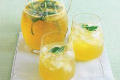 Orange, lemon and ginger cordial