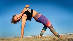 Kathryn Budig teaches how to Flip the Dog, or to come into Camatkarasana, also known as Wild Thing.